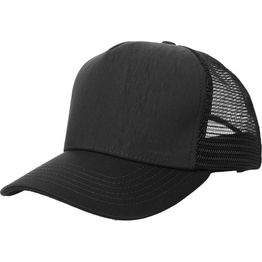 8974e854574 Product James Perse Black Double Face Knit Trucker Hat (Video) Page - 1
